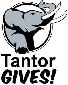 TantorGives! logo