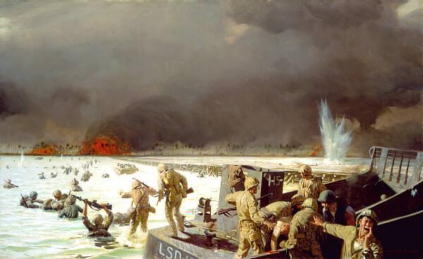 Tarawa Painting